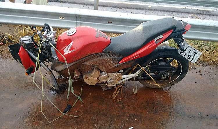 Motociclista morre em acidente na BR-060, entre Goiânia e Guapó