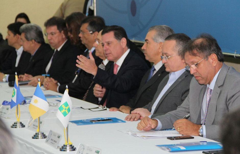 Consórcio Brasil Central firma acordo para combater crime organizado na região