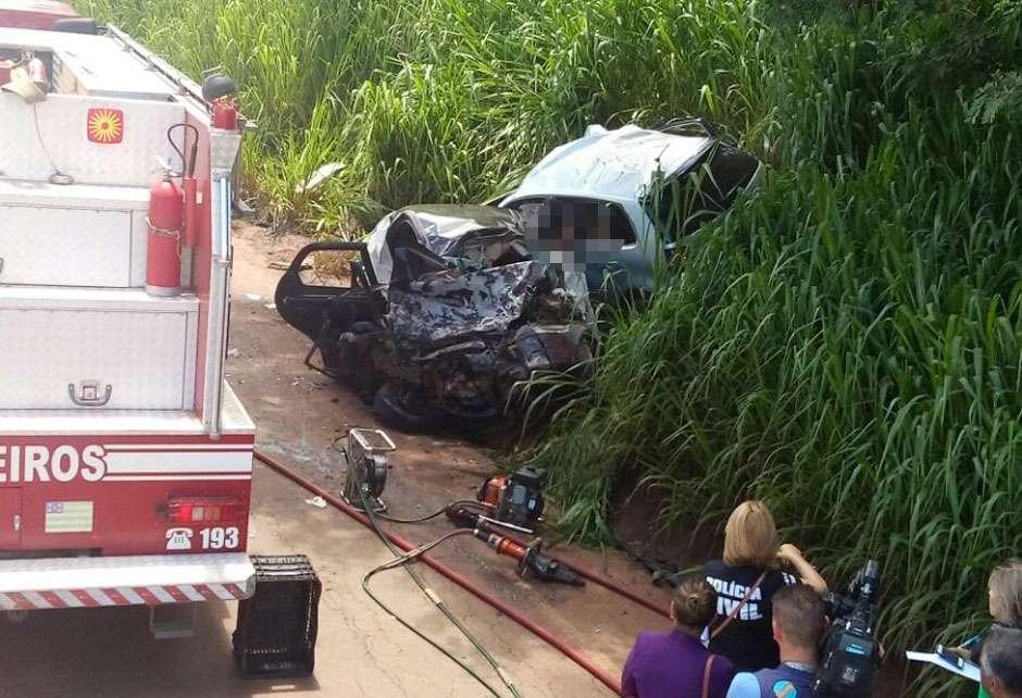 Acidente deixa seis pessoas mortas e duas feridas na GO-462