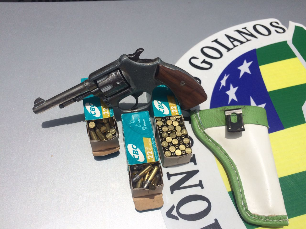 Homem é preso na Rodoviária de Goiânia portando arma de fogo