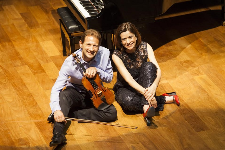 Laurent Breuninger e Ana Flávia Frazão participam do Concertos em Goiânia