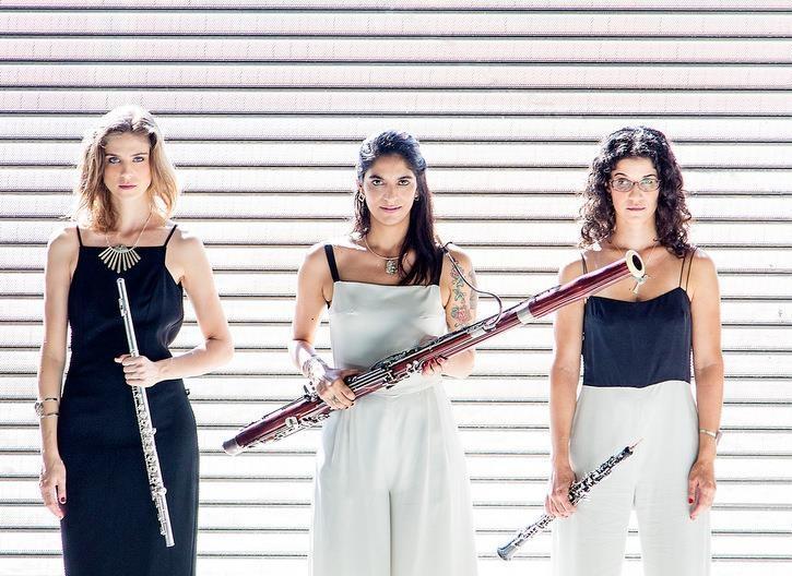 Concertos na Cidade apresenta Trio Capitu