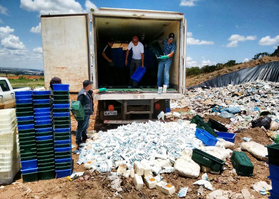 Decon e Agrodefesa apreendem 10 toneladas de produtos impróprios para o consumo