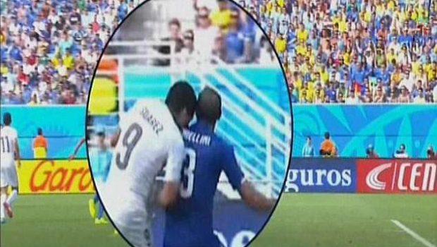 Fifa confirma processo disciplinar contra Suárez por mordida em italiano