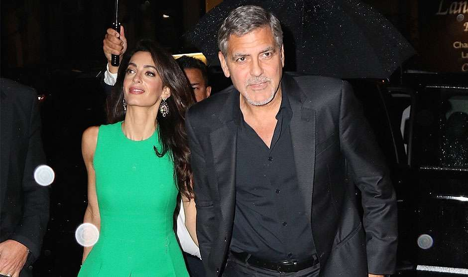 George Clooney reforçou segurança após esposa ser ameaçada de morte