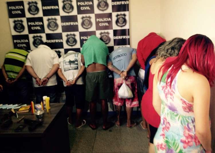 Operação da PC prende 15 ladrões de veículos, cargas e residências