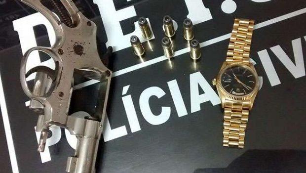 Mulher tem relógio Rolex roubado em Goiânia