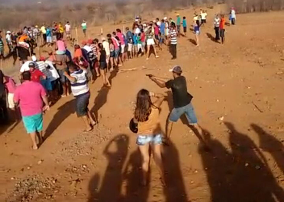 No Ceará, homem escapa da morte após arma de suspeito falhar