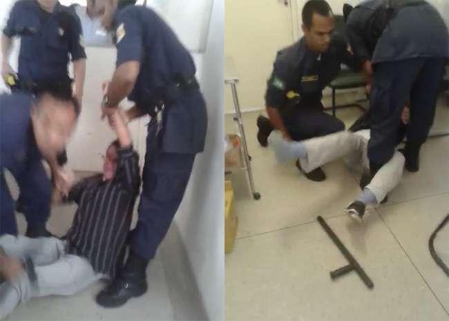 Guardas são suspeitos de agredir paciente em posto de saúde, em Goiânia