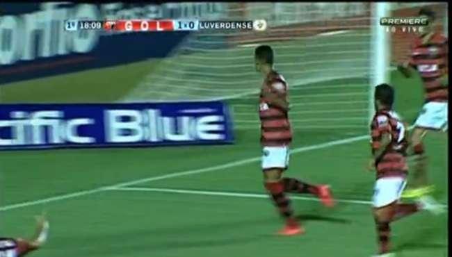 Atlético-GO faz bom 1º tempo e derrota o Luverdense
