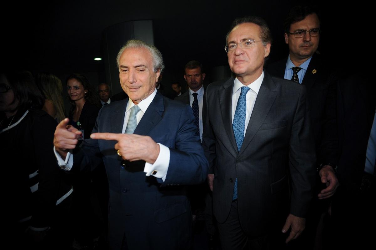 Planalto atua em favor de Renan Calheiros no STF