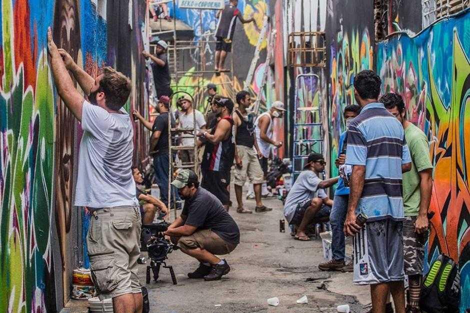 Festival Beco 2 reúne música e grafite no Beco da Codorna