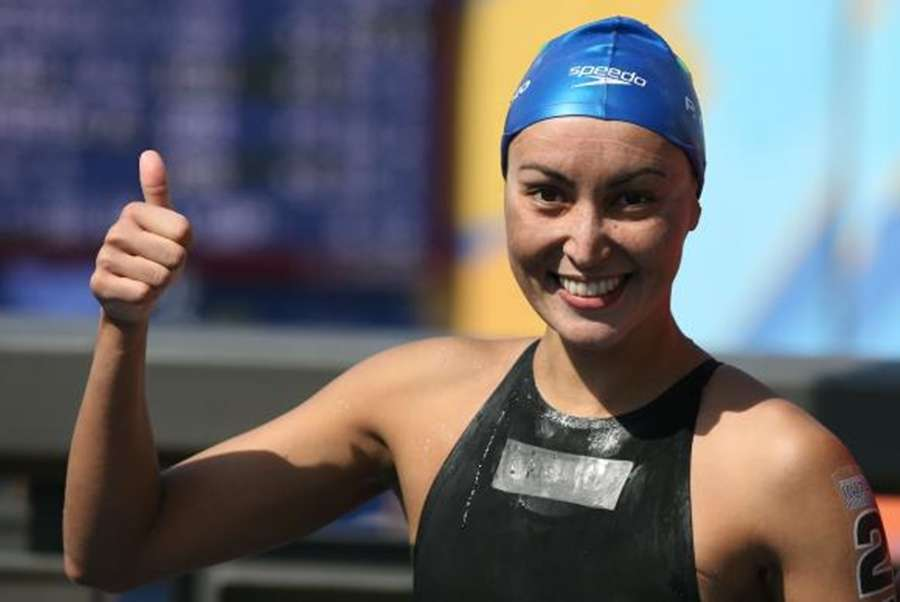 No mar, Poliana ganha 1ª medalha do Brasil na natação feminina em Olimpíada
