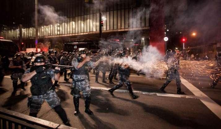 SP: Liminar restringe balas de borracha em manifestações