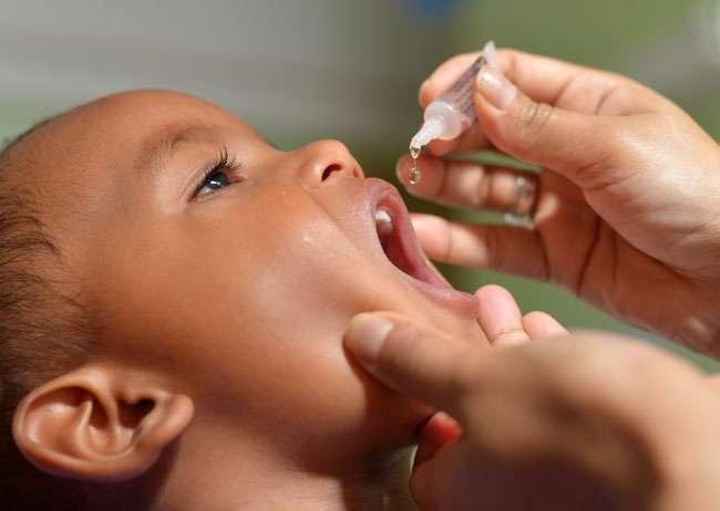 Campanha de Vacinação contra a Pólio e o Sarampo começa neste sábado