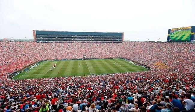 Manchester United e Real Madrid: maior público da história dos EUA