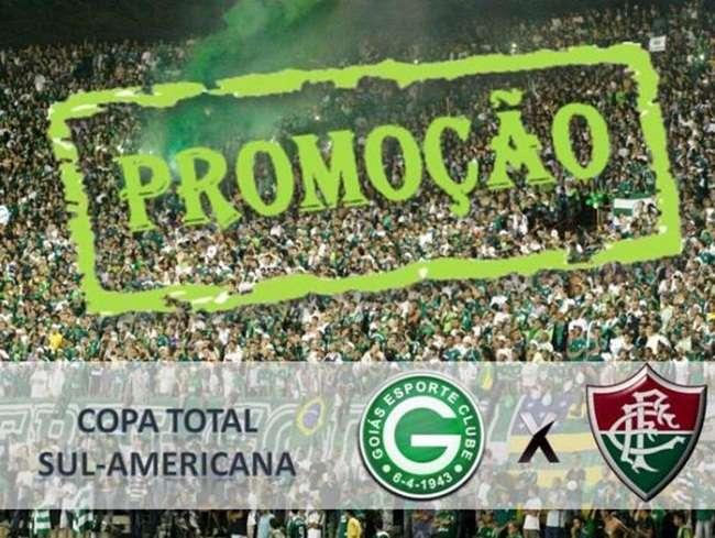 Ingresso para Goiás e Fluminense será de R$ 5