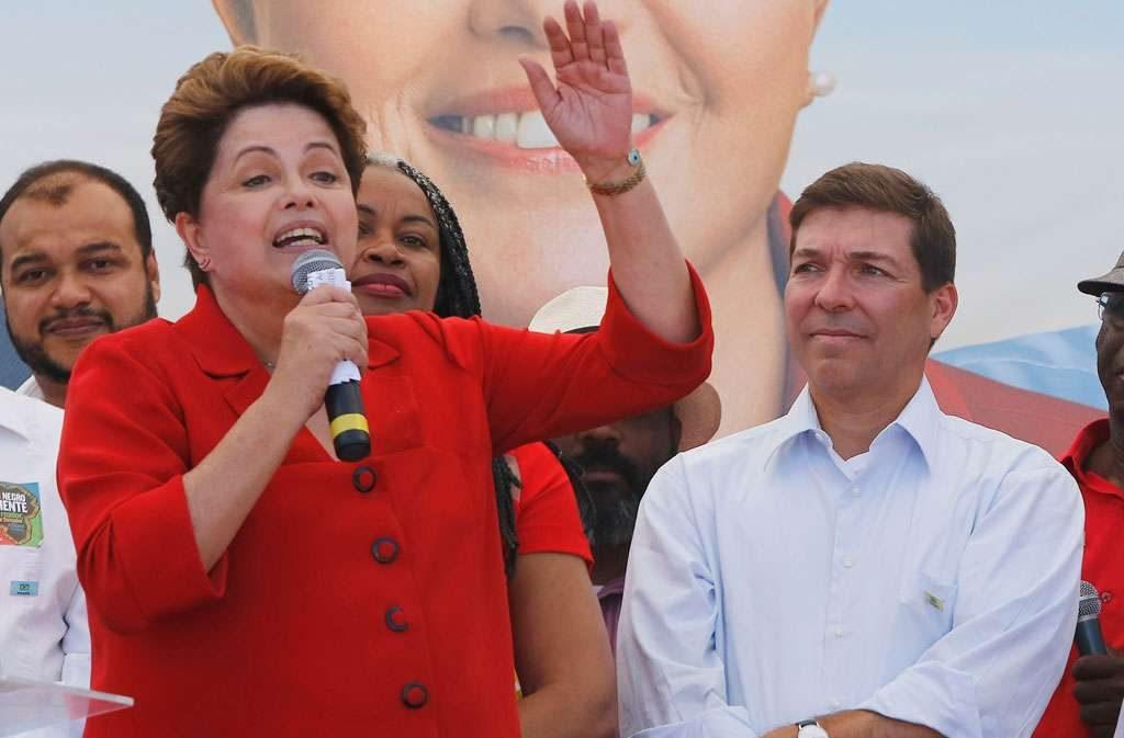 Dilma evita comentar choro de Marina Silva