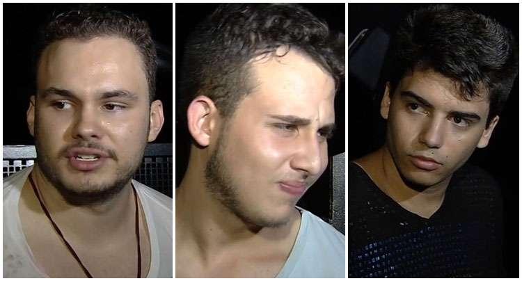 Jovens filhos de empresários são presos por roubos em Goiânia
