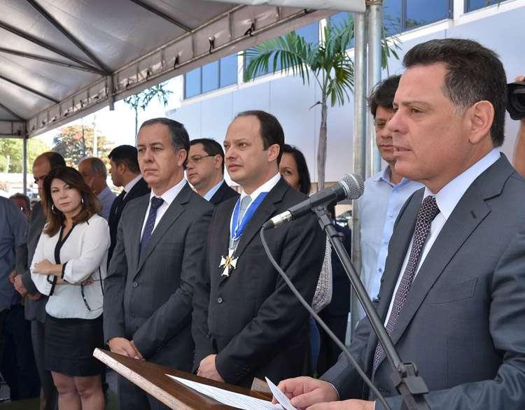 Marconi entrega R$ 32 milhões em equipamentos para a área de Segurança Pública