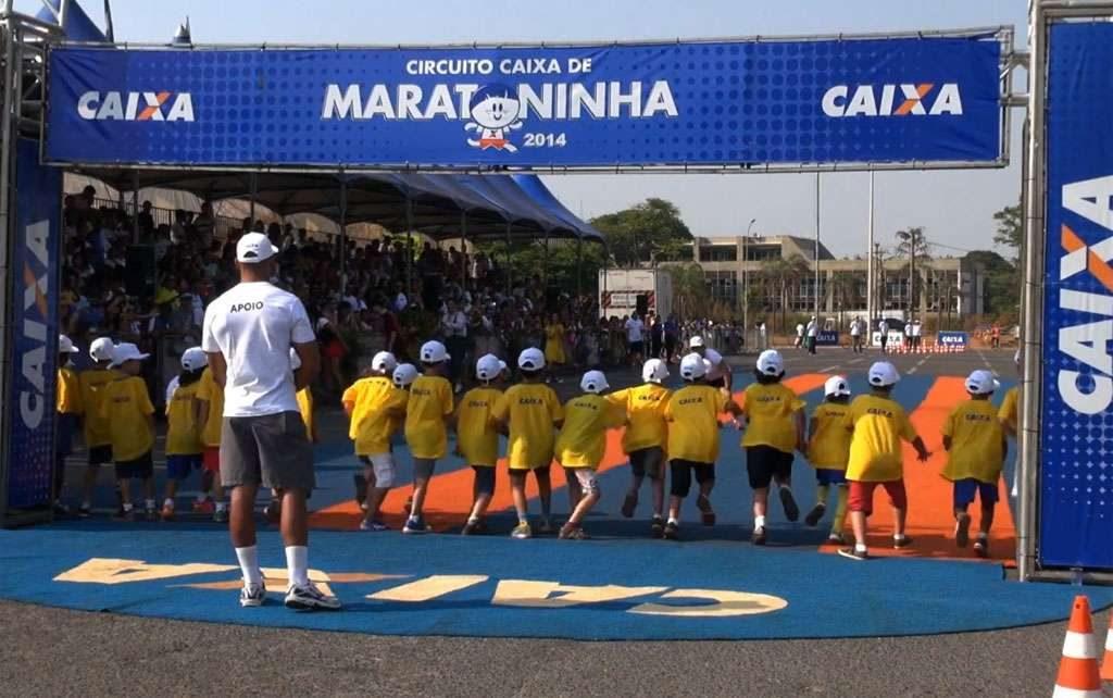 Domingo é dia de Circuito Caixa de Maratoninha em Goiânia
