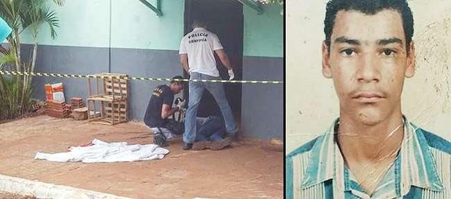 Homem é morto a tiros na porta de um bar, em Jataí
