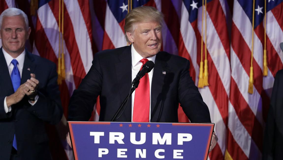 Trump surpreende e é eleito presidente dos Estados Unidos