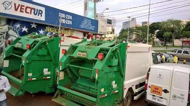 Prefeitura de Goiânia apresenta novos equipamentos para coleta de lixo