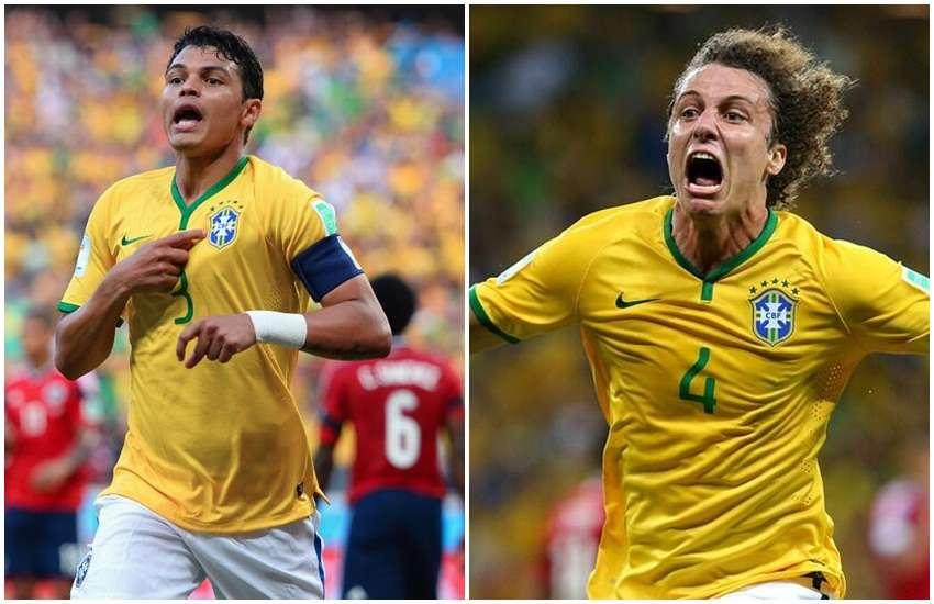 Zagueiros decidem, Brasil vence e chega à semifinal