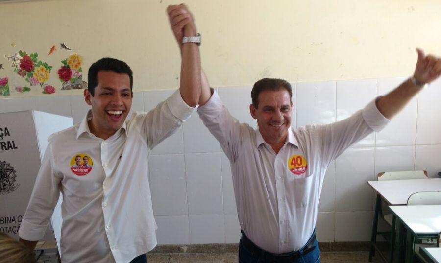 """""""Não tenho nada do que reclamar da participação do PSDB na campanha"""", afirma Vanderlan"""