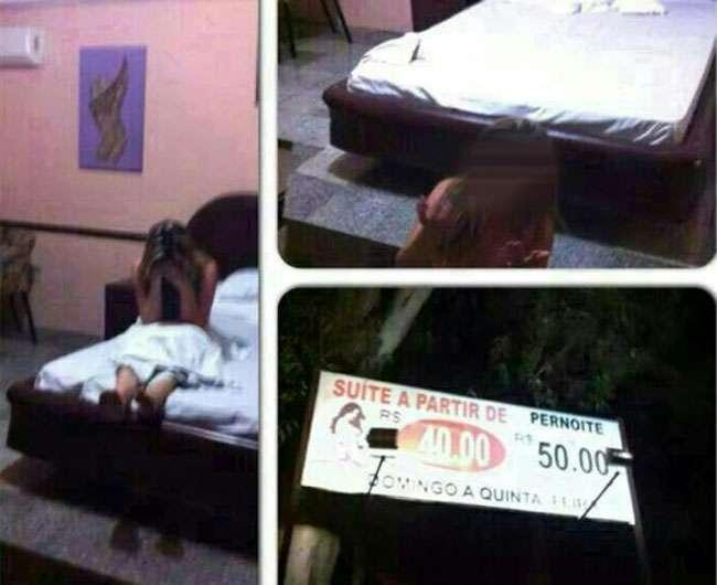 Empresário flagra mulher com amante em motel e divulga vídeo no WhatsApp