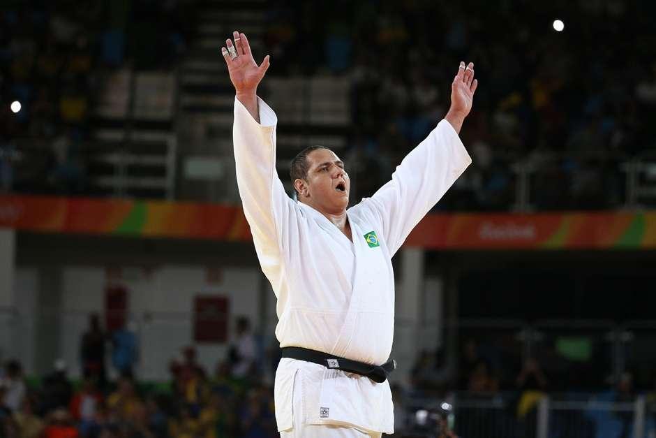 """Rafael Silva """"Baby"""" repete Londres e fica com o bronze no judô"""