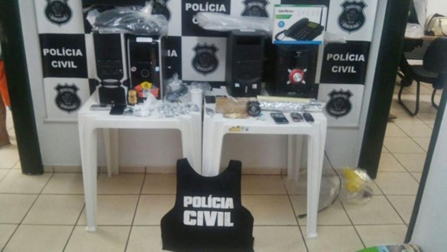 Operação da Polícia Civil prende seis traficantes em Caiapônia