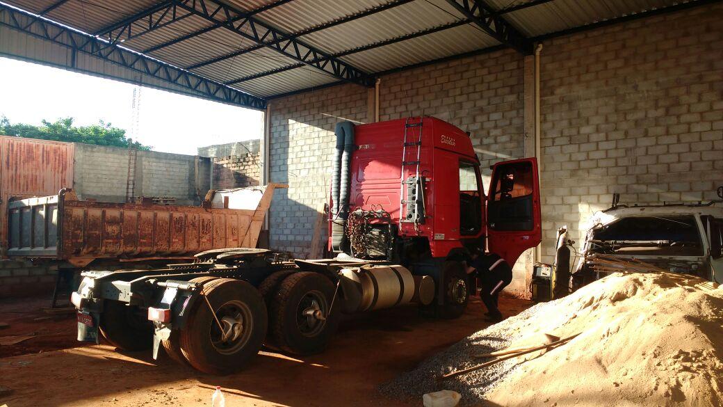 Polícia Civil prende um dos maiores receptadores de caminhões de Goiás