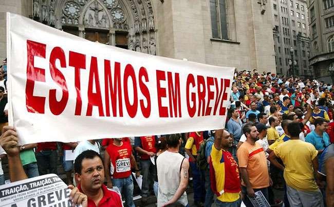 Comissão aprova texto 'brando' sobre direito de greve
