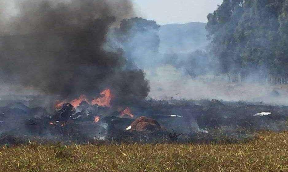 Polícia vai ouvir oito testemunhas da queda de avião em Corumbaíba nesta quinta-feira