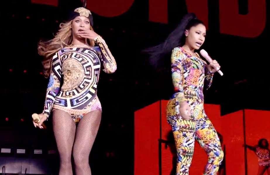 """Beyoncé lança vídeo oficial para parceria com Nicki Minaj em """"Flawless"""""""