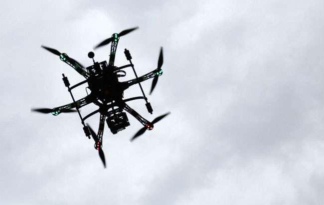 Drone ajuda a localizar homem desaparecido nos EUA