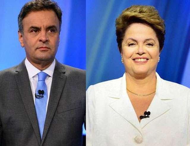 Pesquisa CNT/MDA: Dilma tem 45,5% e Aécio, 44,5% das intenções de voto