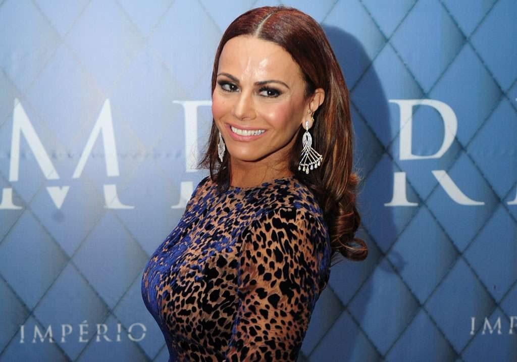 Viviane Araújo nega ser ela em vídeo de sexo que caiu na internet