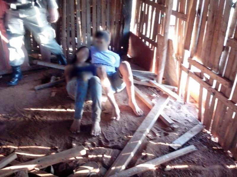 Polícia Militar resgata casal de jovens sequestrado em Mineiros