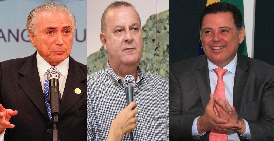 Michel Temer, Marconi Perillo e Paulo Garcia têm administrações reprovadas