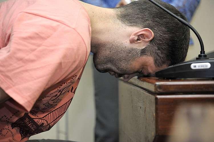 Tiago Henrique permanece em silêncio durante audiência
