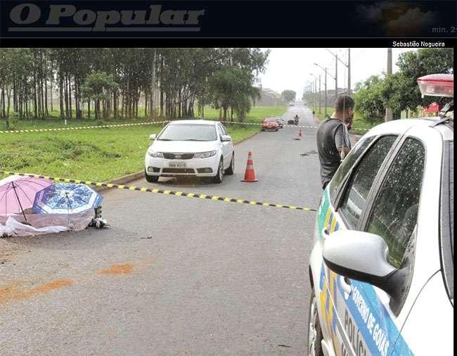 Adolescente morre atropelado ao andar de patins em Goiânia