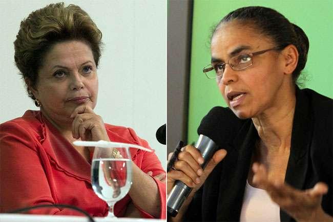 Marina e Dilma se enfrentam hoje em debate