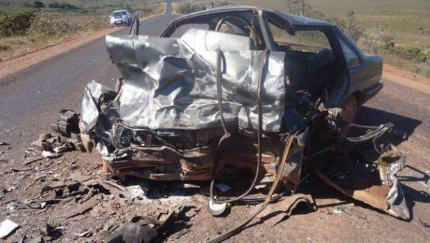 Bombeiros de Planaltina socorrem vítimas de grave acidente