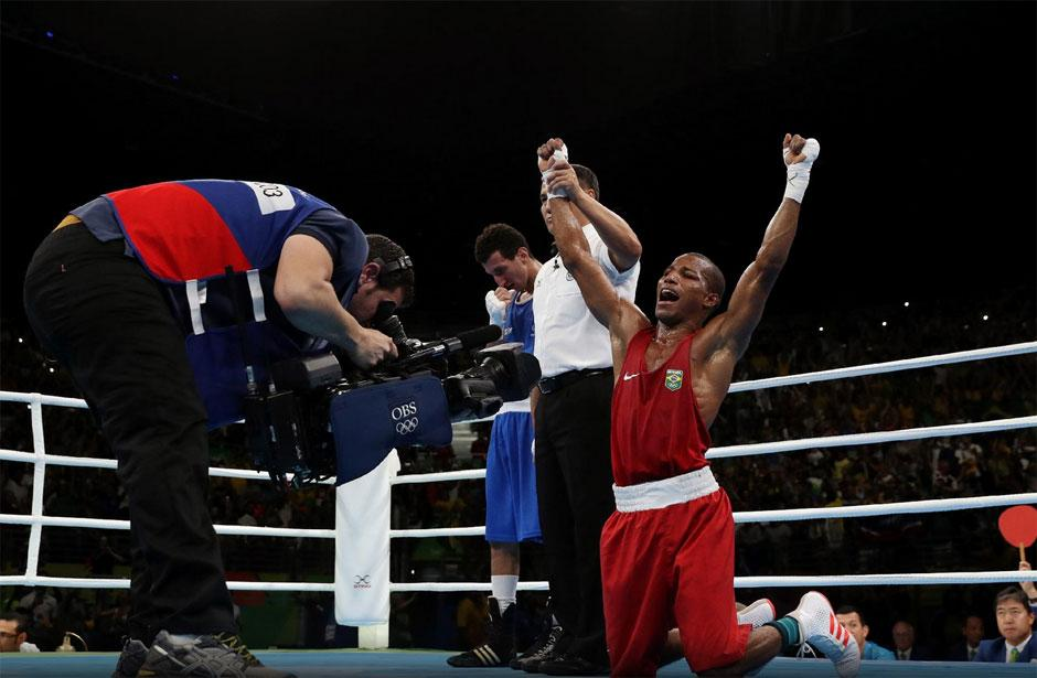 Robson Conceição garante ouro histórico para o boxe brasileiro