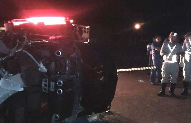 Três pessoas morrem e duas ficam feridas em acidente na GO-164