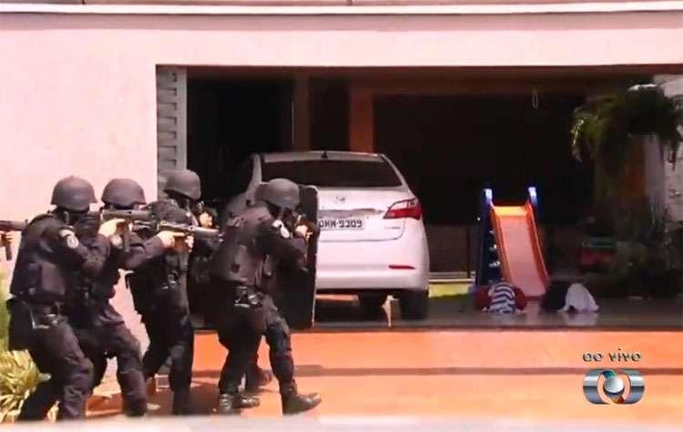 Polícia liberta família de empresário feita refém em Inhumas