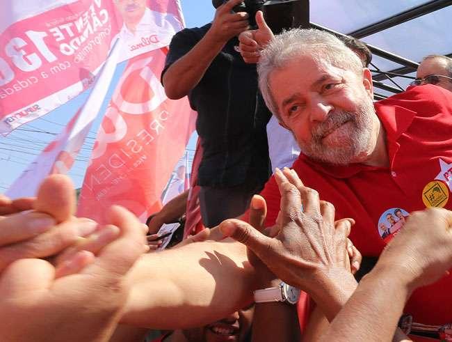 """Lula: 'Marina está """"chateada"""" porque não foi minha escolhida'"""